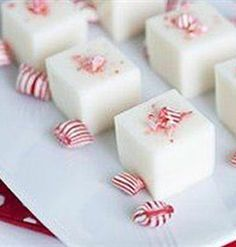 Peppermint Martini Jelly Shots