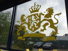 Yellow Heraldry @ Yellow HQ, Utrecht, The Netherlands Utrecht, Netherlands, Studio, Yellow, Artist, Home Decor, The Nederlands, The Netherlands, Decoration Home