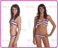 EO Tan Before & After Pictures Spray Tanning - Inland Empire - Kristy - 909-297.0570