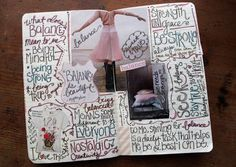 I SO want to start an artist journal like this. Been wanting to forever! Love this one.