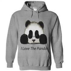I Love The Panda T Shirts, Hoodies, Sweatshirts - #graphic tee #vintage t shirt. GET YOURS => https://www.sunfrog.com/Automotive/I-Love-The-Panda.html?id=60505