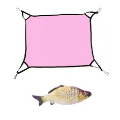 New Pet Cat Animal Hammock Bed Hanging Soft Pet Bed Use With Crate Cage Or Chair For Kitten Swing Removable - 40*50cm - Suitable for Kitten, Ferrets, Guinea pigs ,All kinds of Small Animals