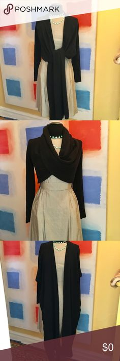 HERVE LEGER Cashmere Excellent like new condition. Wear it in many different ways and look chic. Cashmere 100%. Fits XS-S. Herve Leger Sweaters