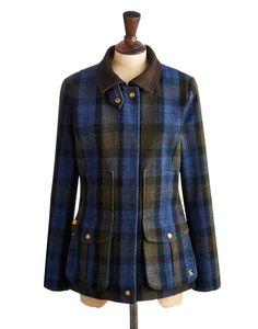 FIELDCOAT Womens Semi-Fitted Tweed Field Coat