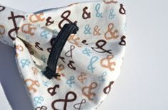 back of bow tie