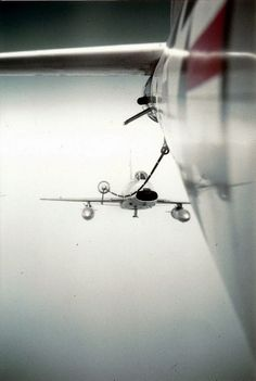 Mid-Air Refueling of an F-100