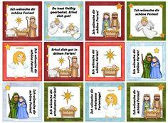 Weihnachtliche Grußkärtchen (Neuauflage)  Diese Grußkärtchen  mit Bildern, die zu Weihnachten bzw. zur Weihnachtsgeschichte passen, waren e...