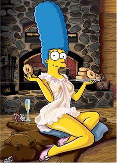 Sexy Marge Simpson #art #illustration #margesimpsom #thesimpsons
