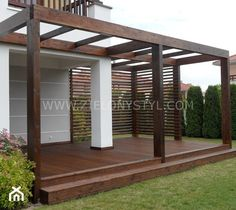 The pergola kits are the easiest and quickest way to build a garden pergola. There are lots of do it yourself pergola kits available to you so that anyone could easily put them together to construct a new structure at their backyard. Wisteria Pergola, Curved Pergola, Small Pergola, Modern Pergola, Pergola Swing, Pergola Attached To House, Metal Pergola, Deck With Pergola, Cheap Pergola