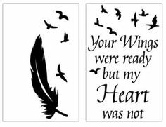 Vinyl Sticker For Lantern - Your Wings Were Ready But My Heart Was Not Memorial Vinyl Projects, Pallet Projects, Vinyl Art, Vinyl Decals, Lantern Quotes, Ikea Lanterns, Christmas In Heaven, Arrow Svg, Memory Crafts