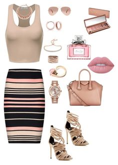 """""""Untitled #249"""" by tamara-kesic ❤ liked on Polyvore featuring Miss Selfridge, Giuseppe Zanotti, Ray-Ban, Rolex, Monica Vinader, Repossi, Gucci, Bling Jewelry, Ellen Conde and Urban Decay"""