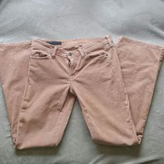 Citizens of Humanity Cords Copper colored corduroy pants by Citizens of Humanity.  Size 29, ingrid#002 stretch, low rise flair.  In clean, good used condition. Citizens of Humanity Pants Boot Cut & Flare