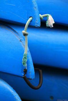 vvv Les petits bateaux bleus by Steve.........., via Flickr