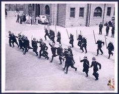 上海英租界警察 1939   Cops at British Concession.