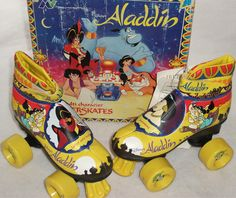 Aladdin roller skates - Where were these when I was a child?!