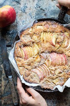 Cardamom Cognac Apple Cake   halfbakedharvest.com @hbharvest