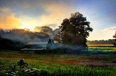 Smokin' at Sunrise. Photographer Sheila Reeves