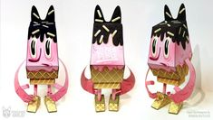 Blog_Paper_Toy_papertoy_Phidias_Gold_Brian_Butler_pic