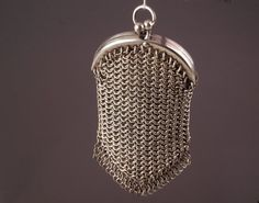 Antique Chatelaine Purse from the Victorian by BelmontandBellamy