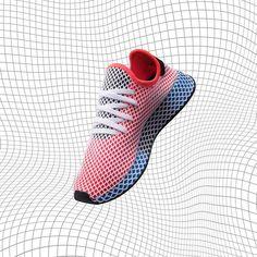 Adidas deerupt bianco grigio ac7755 adidas pinterest adidas, gray