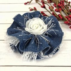 diy home accessories Denim Flowers For DIY Projects, Flowers For Headband, Home Accessories, Personal Accessories, The Lola Denim Flowers, Burlap Flowers, Bijoux Wire Wrap, Diy Home Accessories, Computer Accessories, Wedding Accessories, Hair Accessories, Denim Crafts, Fabric Jewelry