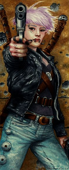 Catalyst Game Labs : More Shadowrun Hard Targets Art...