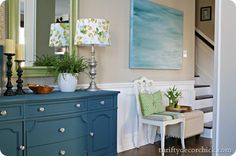 foyer decorating ideas from thrifty decor chick