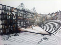 Brooklyn Bridge, Outdoor Furniture, Outdoor Decor, Louvre, Building, Travel, Garden Centre, Viajes, Buildings