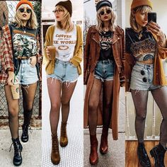 Punk Outfits, Indie Outfits, Grunge Outfits, Boho Outfits, Cute Casual Outfits, Spring Outfits, Vintage Outfits, Fashion Outfits, Autumn Outfits