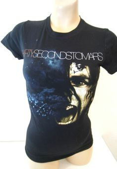 Thirty Seconds To Mars Tee Hot Topic Fitted Women's XS NWT Jerod Leto