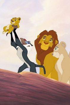 Simba and Nala's with THE ACTUAL first born, Kopa. NOT KIARA KOPA