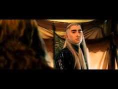 The Hobbit - Gandalf, Bard and Thranduil have a chat