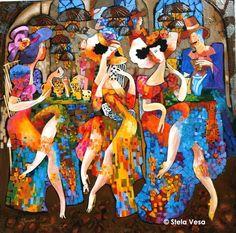 Five o clock teea. by Stela Vesa