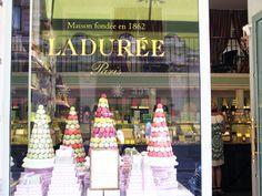 Laduree, Paris macarons