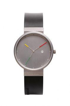 641 - Jacob Jensen Titanium heren horloge