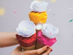 deco-pour-mariage-magasin-deco-mariage-idée-diy-glasses-cones-confeti