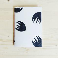 Notebook Journal Screen Printed Tropical by ModernBotanicsShop
