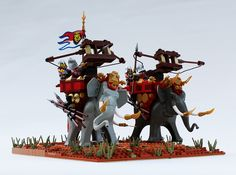 Cry havoc and release the pachyderms of war