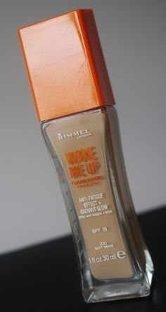Review: Rimmel Wake Me Up Foundation - love it!