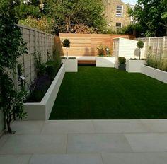 Espacio para disfrutar en el jardin