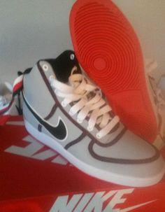buy online 2b584 72bd7 Nike vandal high wolf grey black LT crmsn white size 10 summer fresh
