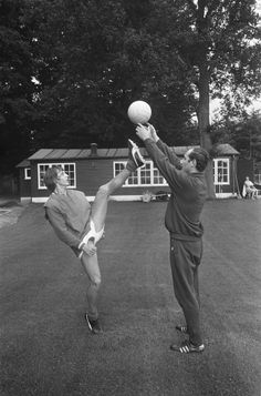 Johan Cruyff training in Zeist 1969
