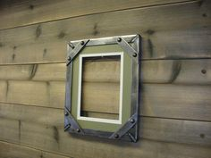 8 x 10 Industrial style picture frame by Wildsteelfurniture, $55.00
