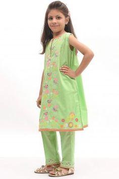 cfac189bea17 Khaadi Baby Girls Dresses For Summer 2017