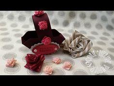 """Vidéo-Tuto """"Roses au ruban"""" par Coul'Heure PapierRoses au ruban"""
