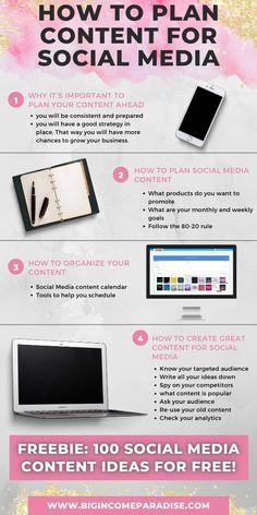 Social Media Marketing Business, Inbound Marketing, Content Marketing, Digital Marketing, Social Media Content, Social Networks, Instagram Marketing Tips, Social Media Engagement, Calendar Ideas