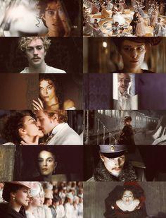 Aaron Johnson and Keira Knightley in Anna Karenina [2012]