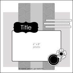 "Valerie Salmon's ""Got Sketch"" blog/classes #layout #single"