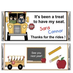 Bus driver appreciation on Pinterest | Bus Driver Gifts ...