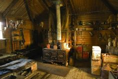 old mountaineering hut UK interior - Google Search